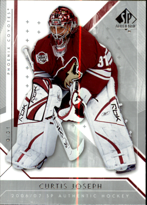 2006-07 SP Authentic #27 Curtis Joseph