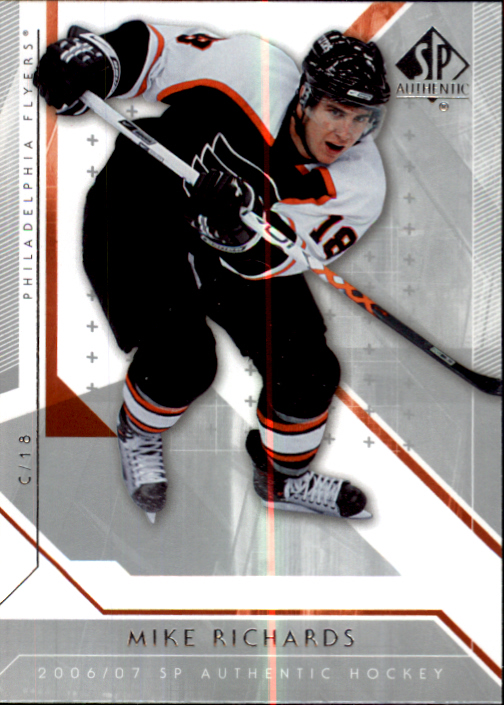 2006-07 SP Authentic #31 Mike Richards