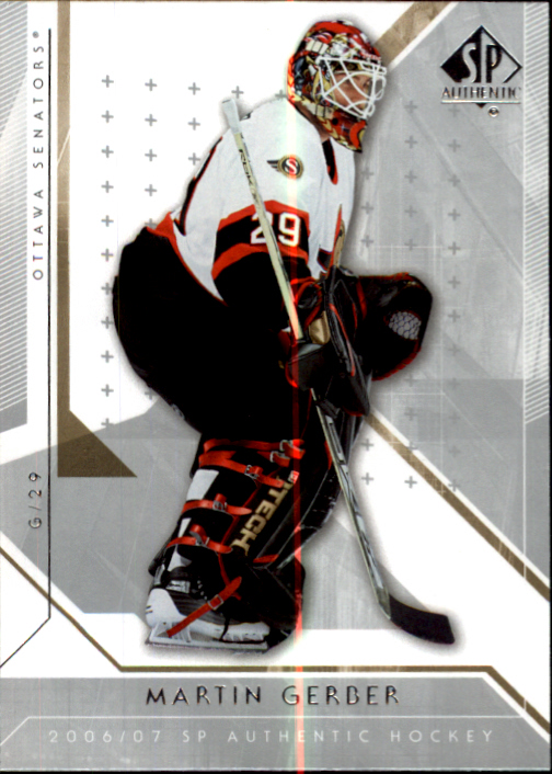 2006-07 SP Authentic #35 Martin Gerber