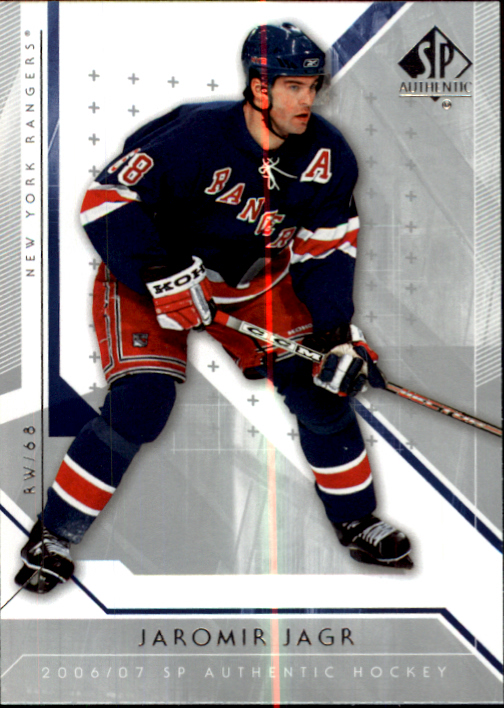 2006-07 SP Authentic #36 Jaromir Jagr