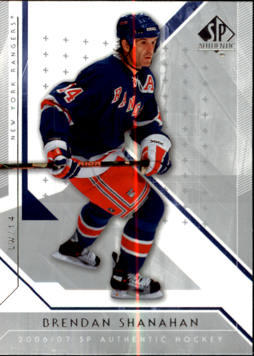 2006-07 SP Authentic #37 Brendan Shanahan