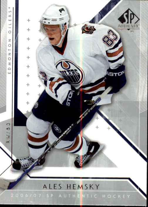 2006-07 SP Authentic #62 Ales Hemsky