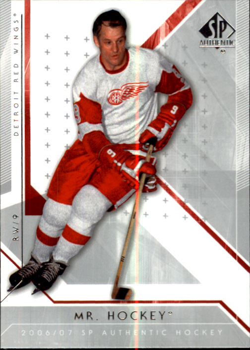 2006-07 SP Authentic #64 Gordie Howe