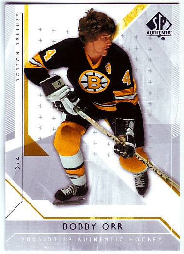 2006-07 SP Authentic #95 Bobby Orr