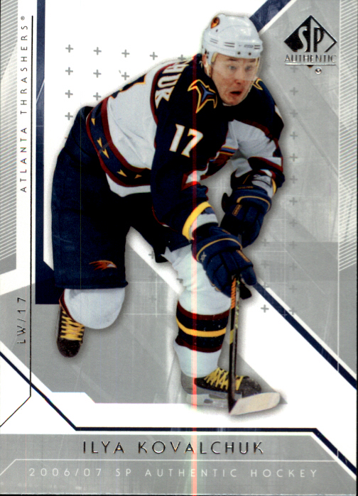 2006-07 SP Authentic #98 Ilya Kovalchuk