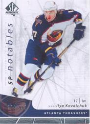 2006-07 SP Authentic #117 Ilya Kovalchuk N