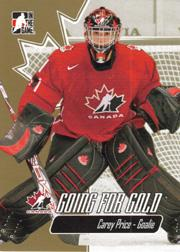 2007 ITG Going For Gold World Juniors #1 Carey Price