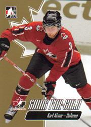 2007 ITG Going For Gold World Juniors #3 Karl Alzner