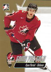 2007 ITG Going For Gold World Juniors #4 Ryan Parent