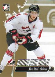 2007 ITG Going For Gold World Juniors #8 Marc Staal