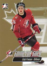 2007 ITG Going For Gold World Juniors #9 Cody Franson