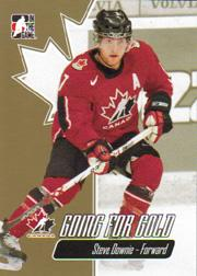 2007 ITG Going For Gold World Juniors #10 Steve Downie