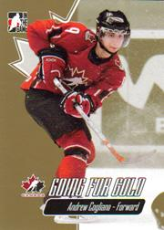 2007 ITG Going For Gold World Juniors #11 Andrew Cogliano