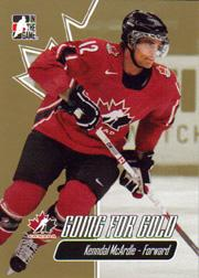 2007 ITG Going For Gold World Juniors #13 Kenndal McArdle