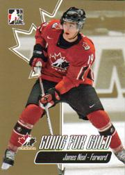 2007 ITG Going For Gold World Juniors #16 James Neal