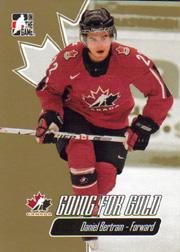 2007 ITG Going For Gold World Juniors #18 Daniel Bertram