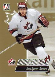 2007 ITG Going For Gold World Juniors #25 Jason Spezza