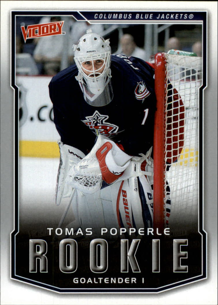 2007-08 Upper Deck Victory #222 Tomas Popperle RC