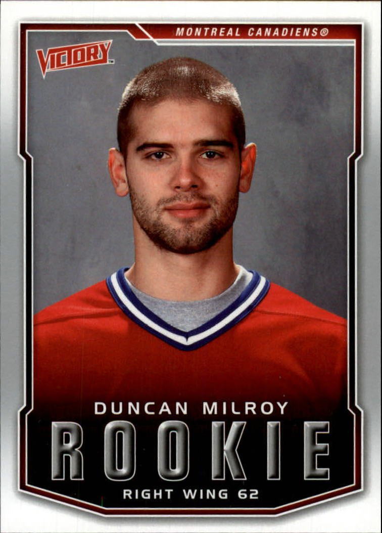2007-08 Upper Deck Victory #238 Duncan Milroy RC