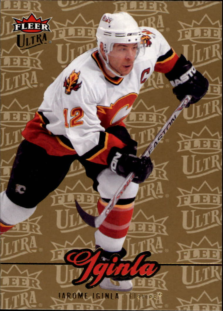 2007-08 Ultra Gold Medallion #169 Jarome Iginla