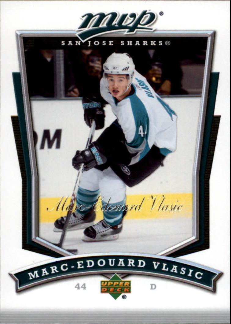 2007-08 Upper Deck MVP #270 Marc-Edouard Vlasic