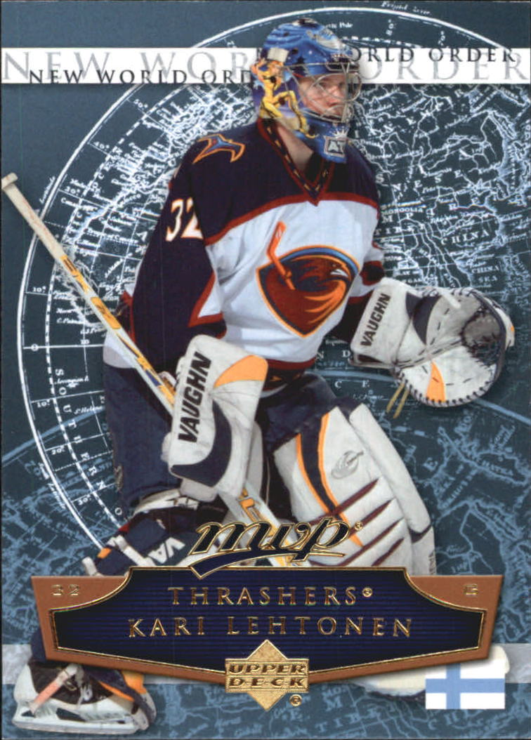 2007-08 Upper Deck MVP New World Order #NW13 Kari Lehtonen