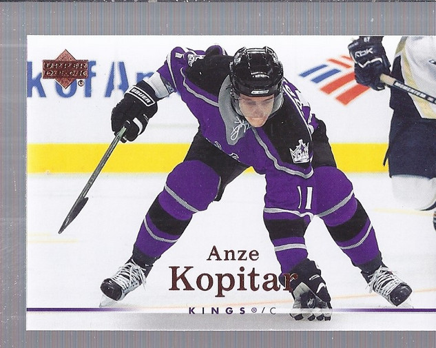 2007-08 Upper Deck #89 Anze Kopitar