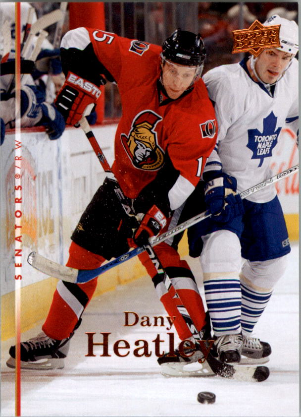 2007-08 Upper Deck #391 Dany Heatley