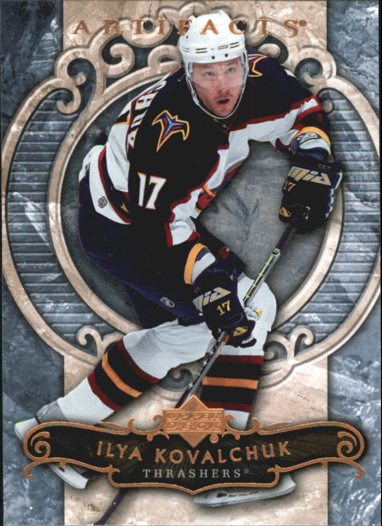 2007-08 Artifacts #9 Ilya Kovalchuk