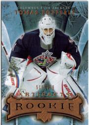 2007-08 Artifacts #147 Tomas Popperle RC