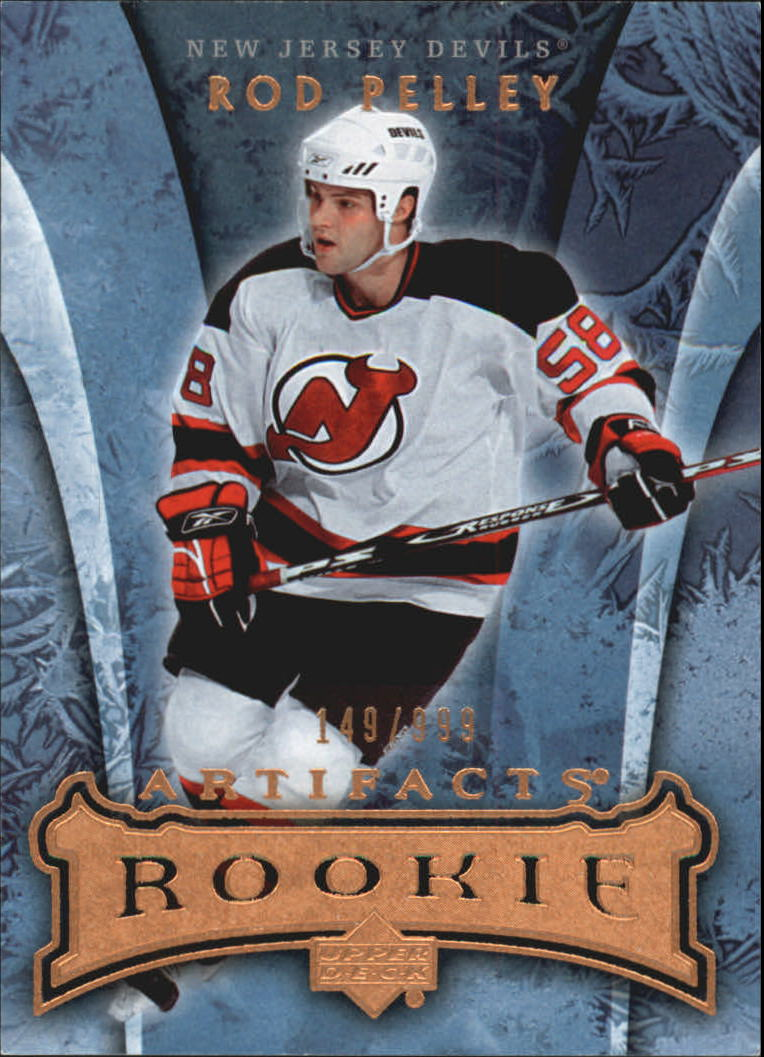 2007-08 Artifacts #161 Rod Pelley RC