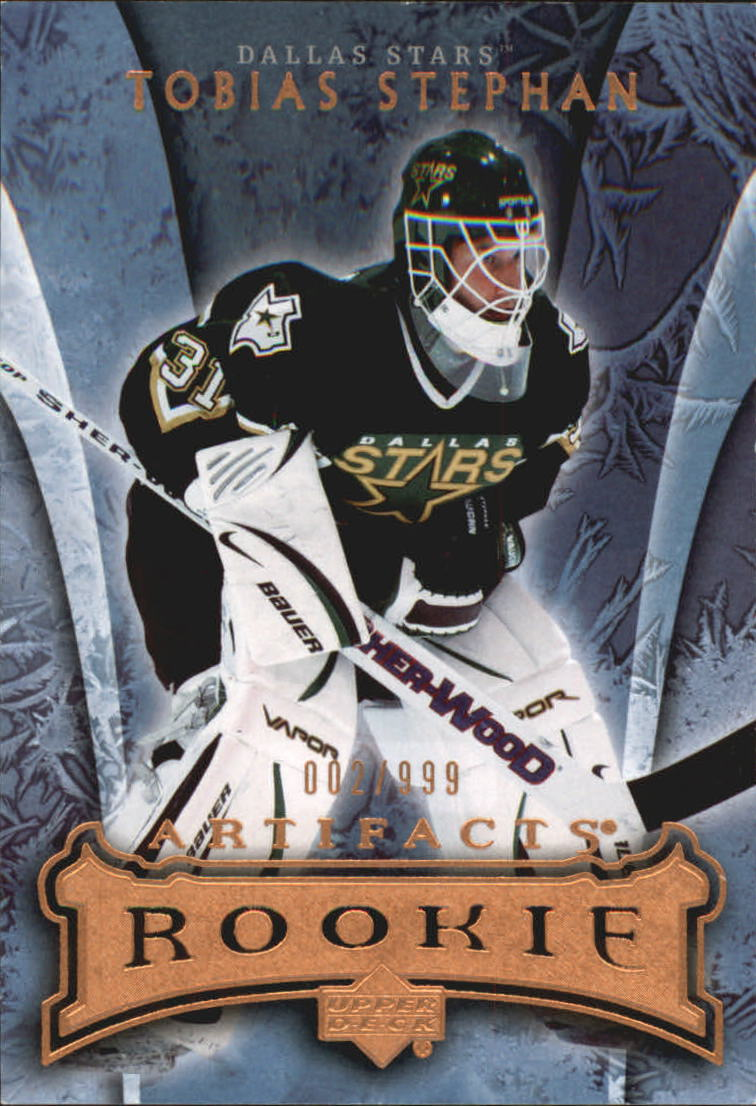 2007-08 Artifacts #196 Tobias Stephan RC