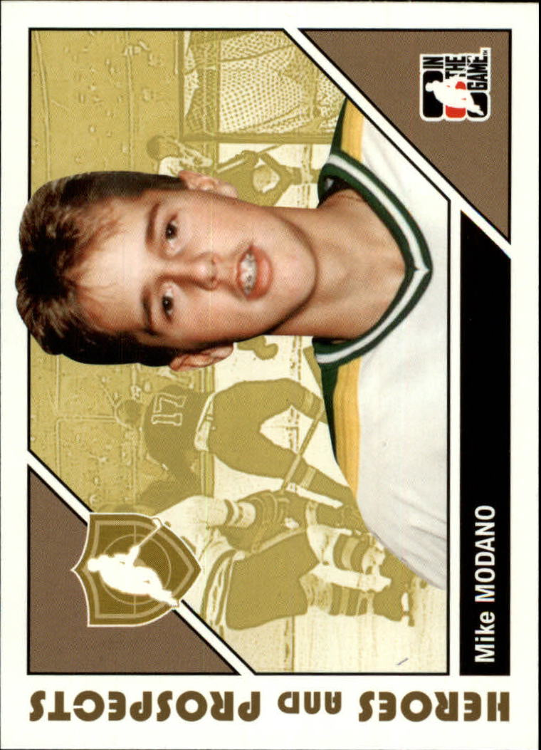 2007-08 ITG Heroes and Prospects #3 Mike Modano