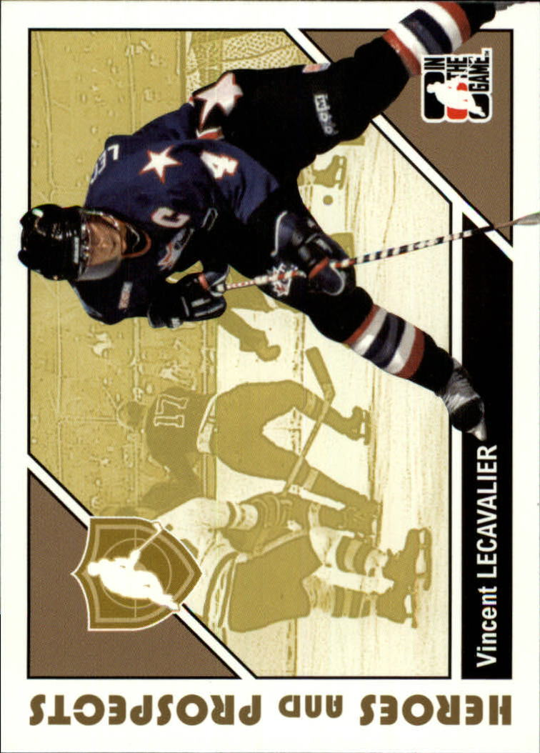 2007-08 ITG Heroes and Prospects #4 Vincent Lecavalier