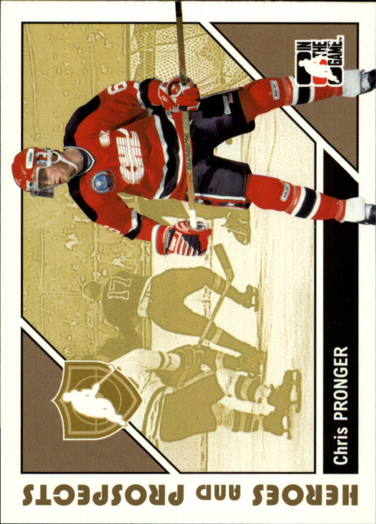 2007-08 ITG Heroes and Prospects #5 Chris Pronger