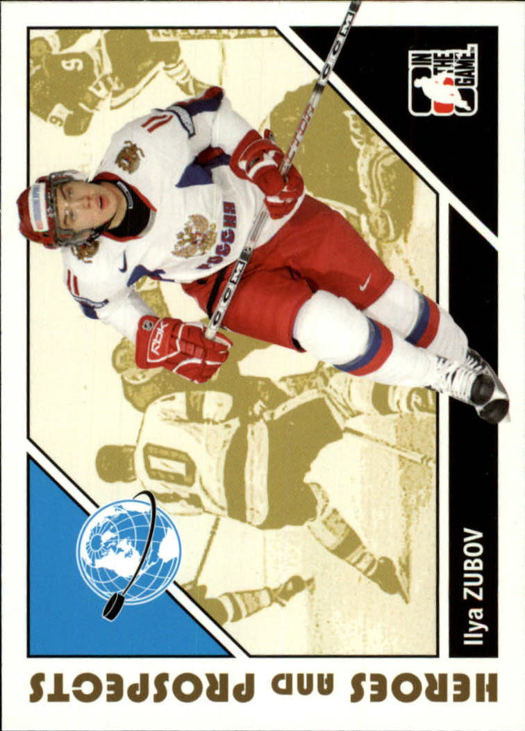 2007-08 ITG Heroes and Prospects #14 Ilya Zubov