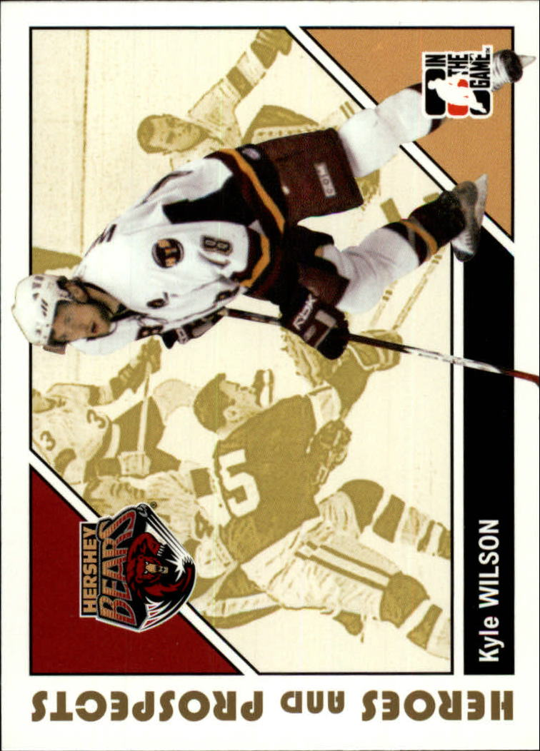 2007-08 ITG Heroes and Prospects #27 Kyle Wilson