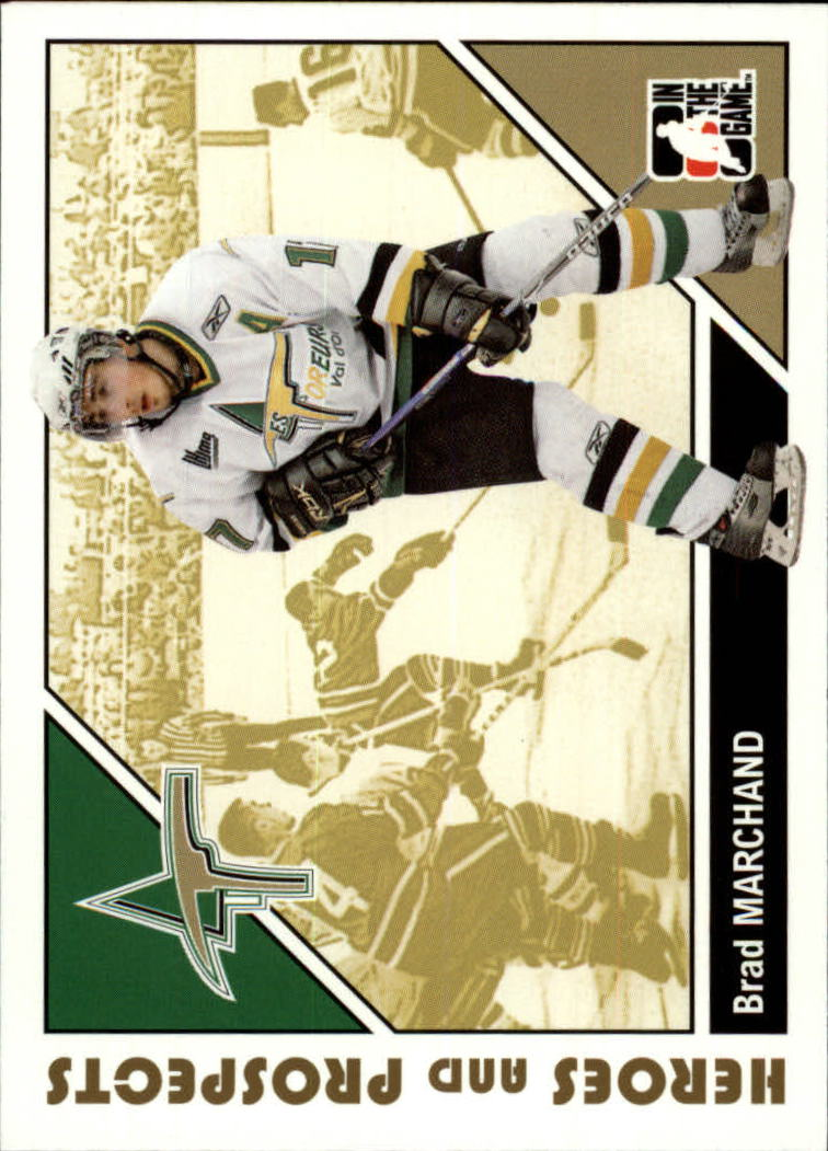 2007-08 ITG Heroes and Prospects #54 Brad Marchand