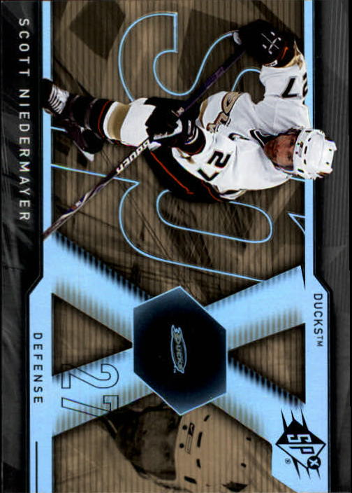 2007-08 SPx #3 Scott Niedermayer
