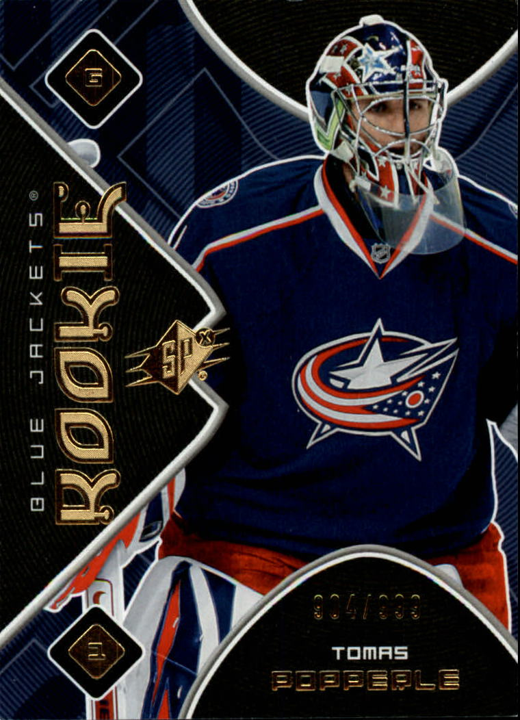 2007-08 SPx #160 Tomas Popperle RC