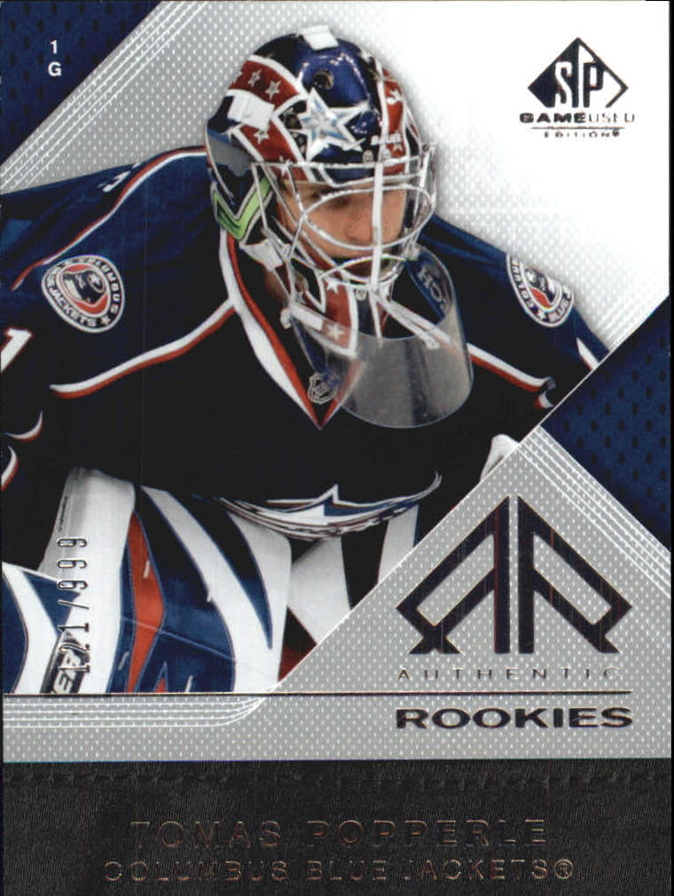 2007-08 SP Game Used #163 Tomas Popperle RC