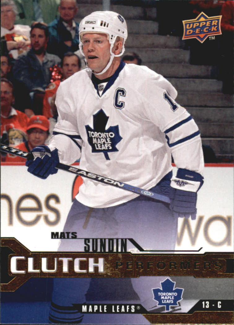 2007-08 Upper Deck Clutch Performers #CP3 Mats Sundin