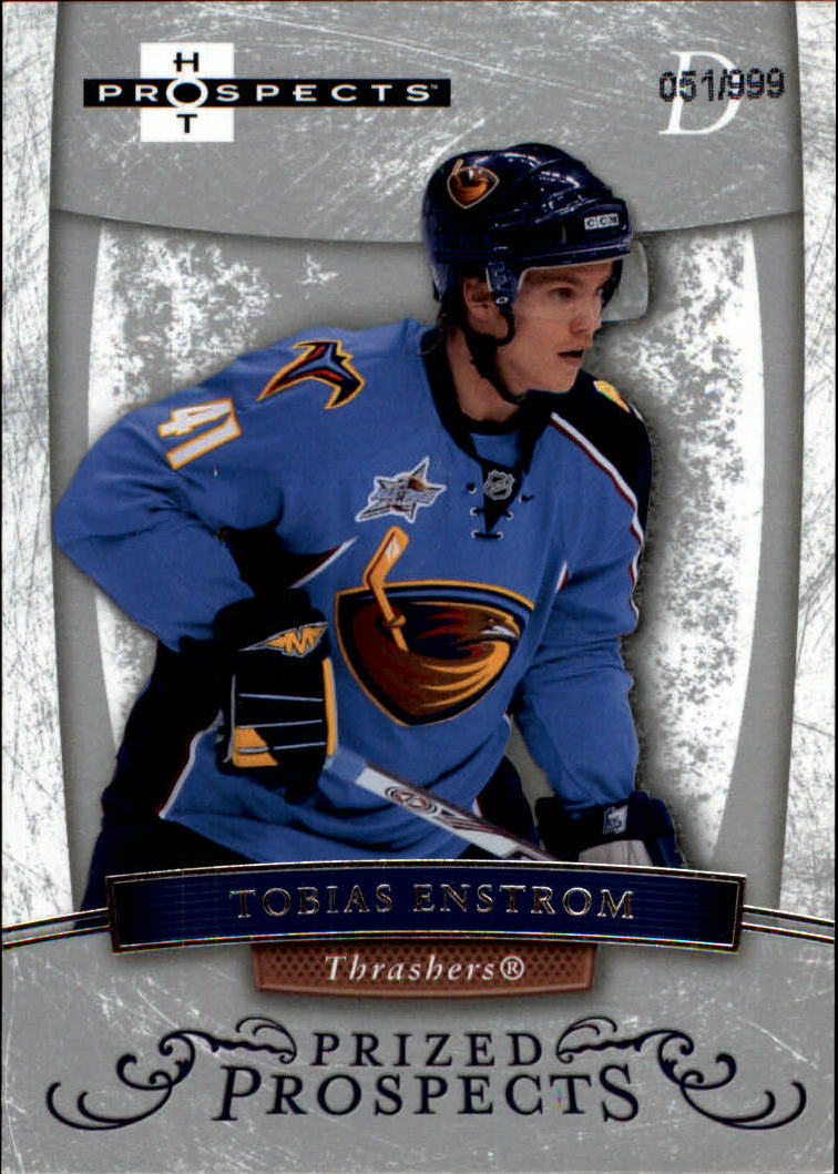 2007-08 Hot Prospects #172 Tobias Enstrom RC