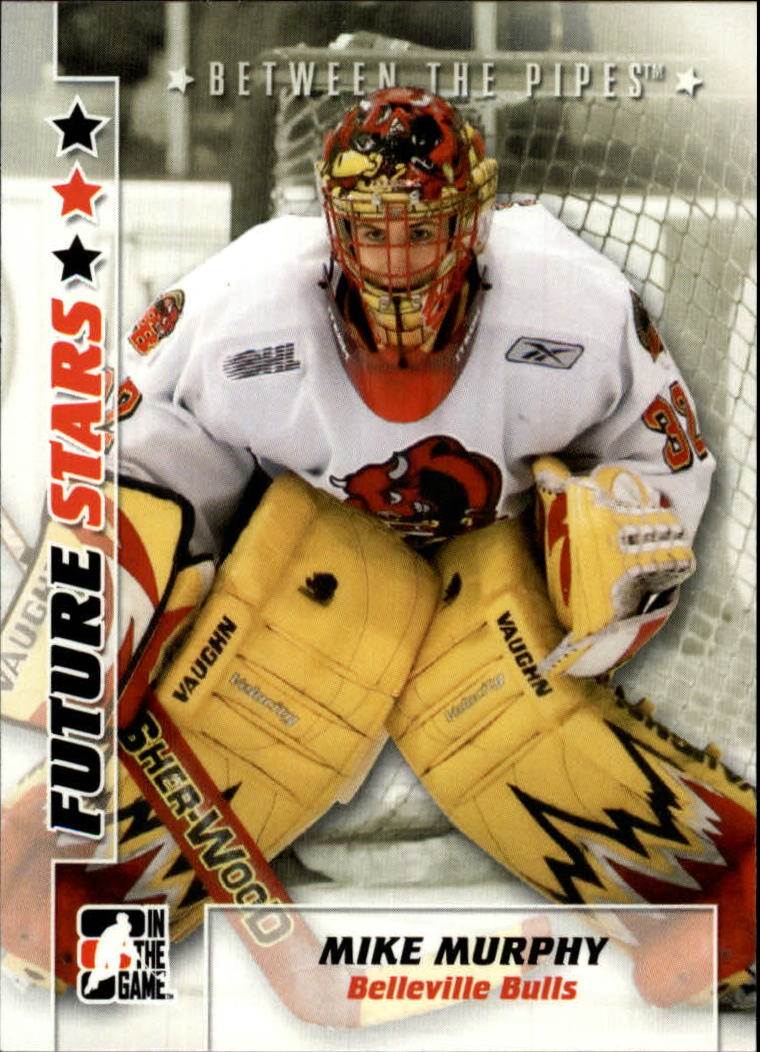 2007-08 Between The Pipes #40 Mike Murphy