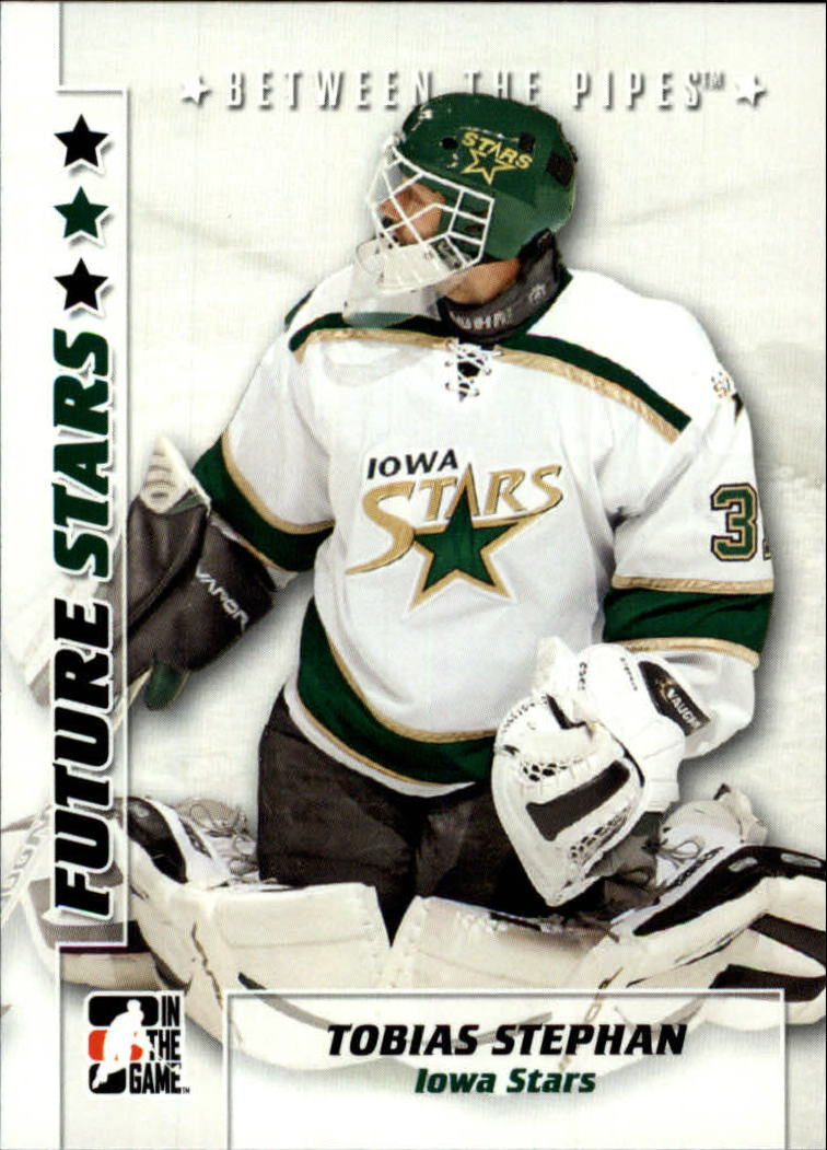 2007-08 Between The Pipes #53 Tobias Stephan