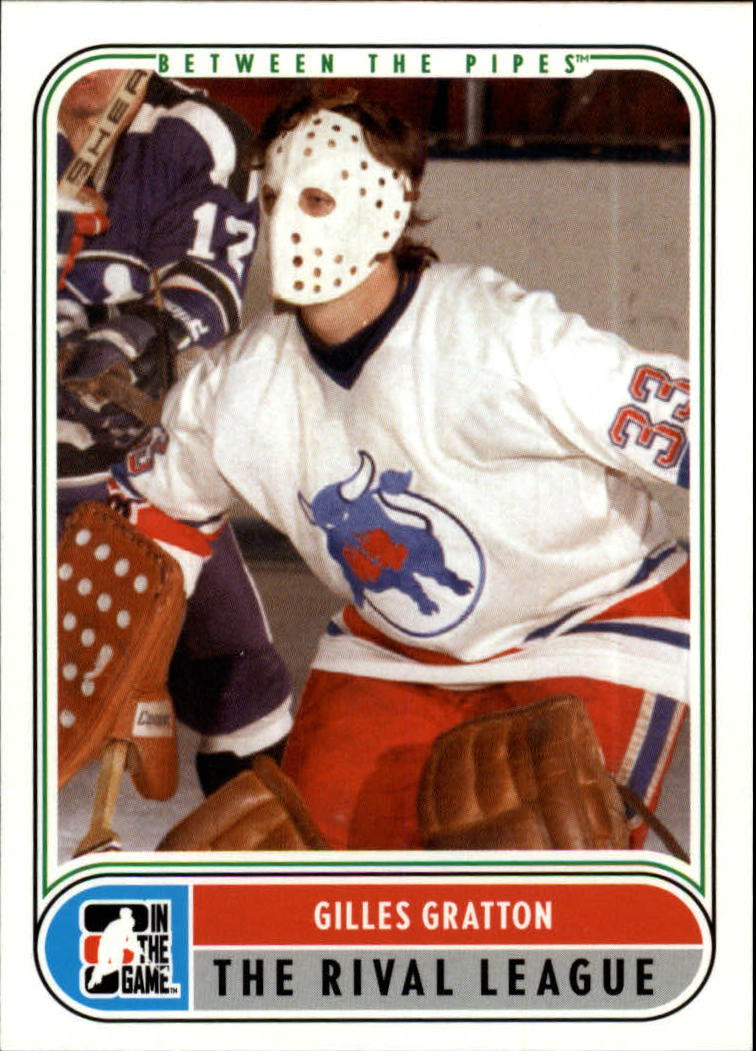 2007-08 Between The Pipes #92 Gilles Gratton