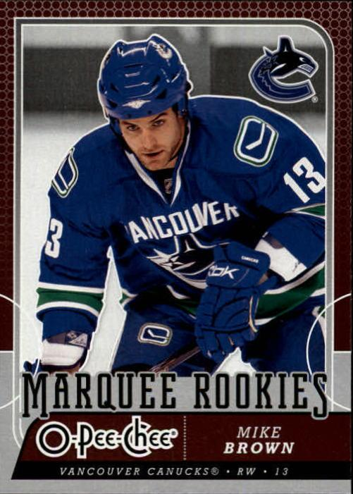 2008-09 O-Pee-Chee #502 Mike Brown RC