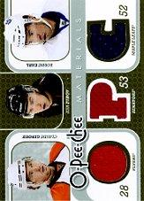 2008-09 O-Pee-Chee Materials Triple #3MZEG Claude Giroux/Ilya Zubov/Robbie Earl