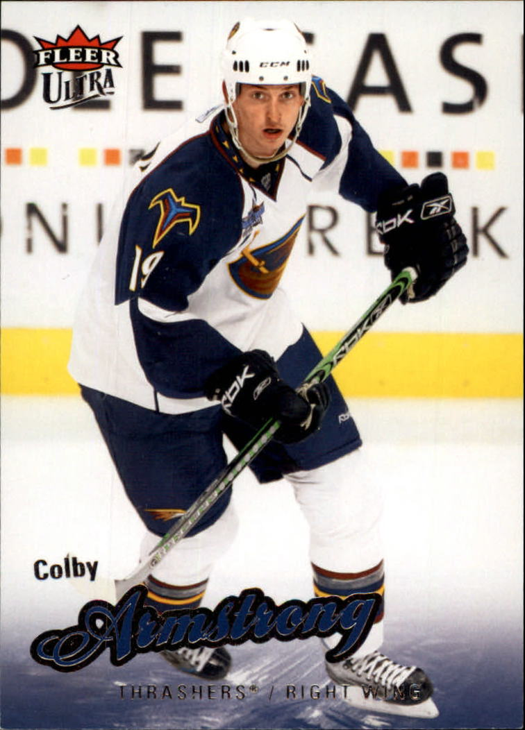 2008-09 Ultra #3 Colby Armstrong