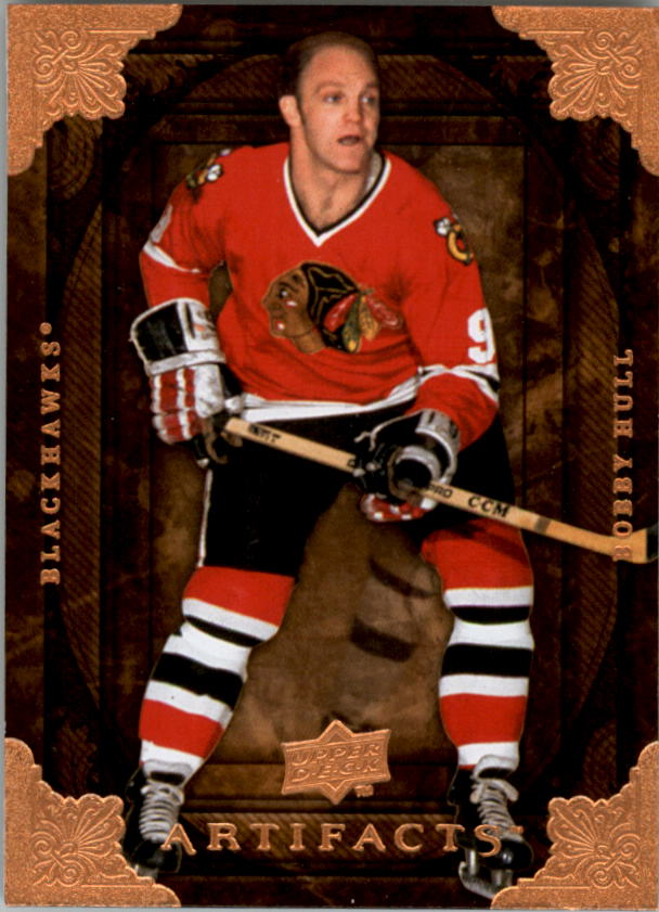2008-09 Artifacts #80 Bobby Hull